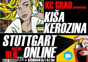 KisaKerozina_StuttgartOnline_Kisobran_Plakat