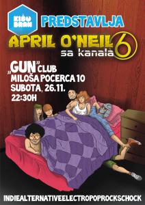 Kišobran LIVE! uz April O'Neil sa kanala 6