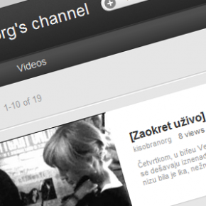 Kišobran youtube kanal