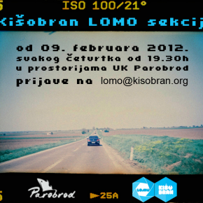 Kišobran LOMO sekcija u UK Parobrod