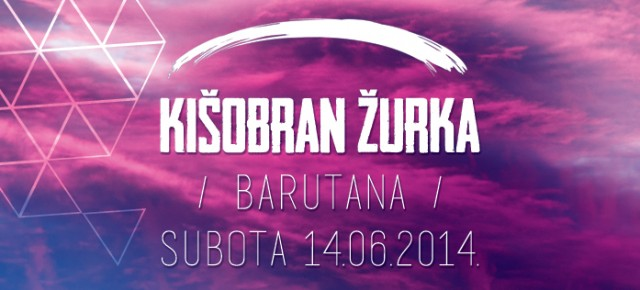 Kišobran žurka u Barutani