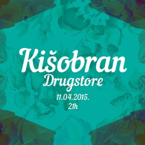Kišobran žurka // Subota 11. april, 21h // Drugstore