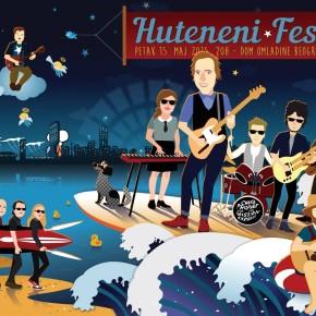 HUTENENI Fest /Chuck Prophet, Rebel Star, The Bambi Molesters, Jonah Tolchin // Petak 15. maj/ Dom Omladine