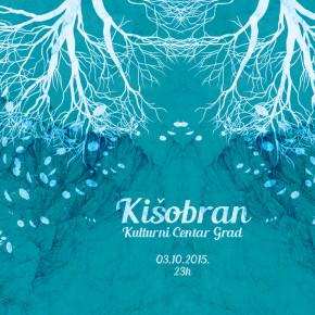 Kišobran žurka // Subota 3. oktobar, 23h // Kc Grad