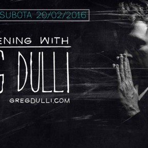 GREG DULLI /Veče sa Gregom Dulijem/ Gun Club (20.02.2016)