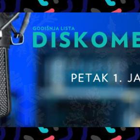 Diskomer godišnja lista uživo // Petak 1. januar, 20h // Zaokret