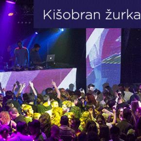 Kišobran žurka ☔☔ Subota 21. maj, 23h ☔☔ Elektropionir i Zaokret