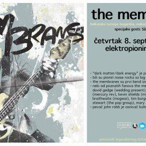 The Membranes u Elektropioniru! (Četvrtak 8. septembar 21h)