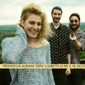 Stepa - koncertna promocija albuma /Subota 16. decembar 21h/