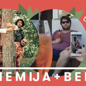 Bohemija + Benjd u Gradu! (Četvrtak 11. april 21h)