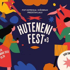 Huteneni Fest #3 (Subota 30. novembar)