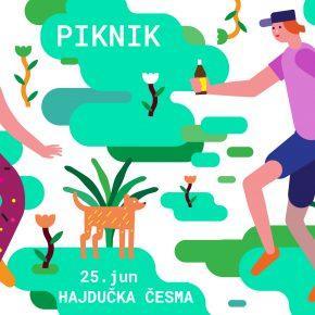 Piknik // Nedelja 25. jun, 12h // Hajdučka česma