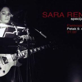 Sara Renar + Egret /Petak 9. novembar 21.00, Elektropionir/